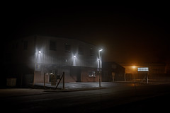 Haze (Dan Parratt) Tags: night streetlight road industrial industrialestate urban urbanography urbanscape nightscape nightphoto nightfoto darkness artificiallight streetphotography nightphotography farnham surrey