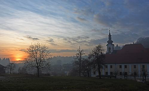 Adergas, Velesovo monastery