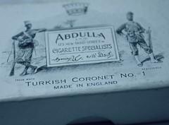 Abdulla Cigarettes (Obsoleum.com) Tags: cigarette abdulla