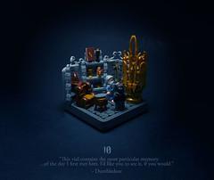 10 - The House of Gaunt (Melan-E) Tags: harry potter half blood prince magical journey hogwarts magic dumbledore pensive memories voldemort office lego afol torolug toronto