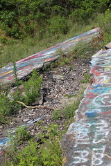 IMG_2034_edited (k.illi) Tags: abandoned town abandonedtown centralia pennsylvania pa route61 oldroute61 graffiti landscape