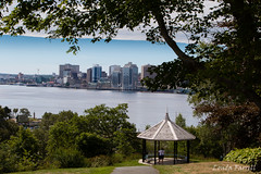 Halifax (londa.farrell) Tags: august canada canon canondslr canoneos7dmarkii dartmouth novascotia daytime outdoor summer sunny halifax harbour halifaxharbour dartmouthcommons waterfront trees park urbanpark parkinacity gazebo path