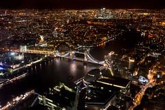 The View from The Shard (Kim Hawkins Photography) Tags: bigben theshard london newyear2016 theembankment londonbridge night longexposure towerbridge stpaulscathedral thegherkin canarywharf londonstadium wembleystadium theo2 charingcrossstation bridges londoneye viewfromtheshard sony a7mkii sonyfe35mmf28 zeiss cityhall