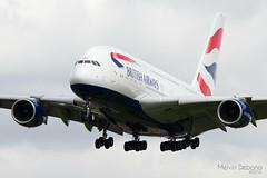 British Airways Airbus A380-841  |  G-XLEF  |  London Heathrow  - EGLL (Melvin Debono) Tags: british airways airbus a380841 | gxlef london heathrow egll melvin debono airport airplane aircraft spotting united kingdom uk plane flight flying