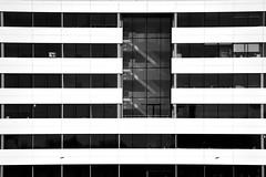 No Work Today (YIP2) Tags: white architecture architect delft netherlands building modernarchitecture stripes line lines window windows minimal minimalism technopolis sky blue cepezed design