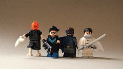 New Gothamites (th_squirrel) Tags: lego dc comics batman minifigs minifig minifigures minifigure bloom robin eternal detective gotham bluebird harper row orphan mother