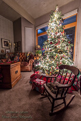 Christmas Tree In The Morning (rebeccalatsonphotography) Tags: christmas xmas tree cozy lights bright festive livingroom canon 14mm 5dsr holiday