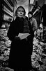 Portrait de rue#16 (Olivier DESMET) Tags: olivierdesmet street streetphoto photosderue candid lesgens manifestation noirblanc nb blackandwhite bw monochrome ricoh ricohgr gr 28mm