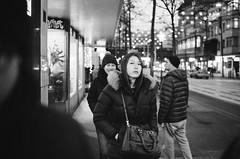 happy and sad (gato-gato-gato) Tags: 35mm asph ch iso400 ilford ls600 leica leicamp leicasummiluxm35mmf14 mp mechanicalperfection messsucher noritsu noritsuls600 schweiz strasse street streetphotographer streetphotography streettogs suisse summilux svizzera switzerland wetzlar zueri zuerich zurigo z¸rich analog analogphotography aspherical believeinfilm black classic film filmisnotdead filmphotography flickr gatogatogato gatogatogatoch homedeveloped manual rangefinder streetphoto streetpic tobiasgaulkech white wwwgatogatogatoch zürich manualfocus manuellerfokus manualmode schwarz weiss bw blanco negro monochrom monochrome blanc noir strase onthestreets mensch person human pedestrian fussgänger fusgänger passant