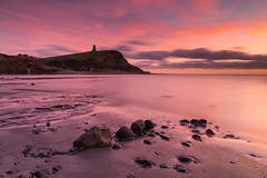Kimmeridge sunset (Jake Pike) Tags: kimmeridge sunset dorset winter rocks reflections coast colour cliffs clouds canon calm clavels tower headland low tide jake pike photography jurassic sea seascape filters lee