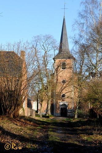 Gentinnes -- Église Sainte-Gertrude (1784-1863)