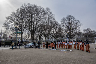 Anti-Torture Protesters Tell the Stories of Guantánamo Detainees at the White House
