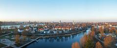 Kehl am Rhein (Explore) (sigi-sunshine) Tags: ortenaukreis ortenau kehl kehlamrhein weistannenturm insel urban vogelperspektive panorama rhein altrhein strasbourg strasburg wasserband kinderspielplatz france frankreich deutschland germany