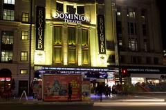 Dominion Theatre, London (wearearchers) Tags: thebodyguard dominiontheatre theatresignage theatreland westend