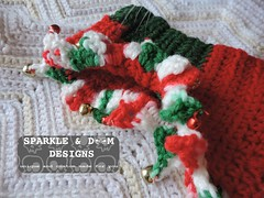 RoyDogSweater 01b (zreekee) Tags: crochet saskatchewan sparkledoomdesigns theviolethedgehog dog sweater christmas