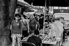 Insadong street scene (gunman47) Tags: 2016 asia asian b bw insadong korea korean mono monochrome october rok republic seoul sepia south w black gil people photography scene stall street wares white 서울 southkorea