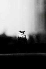 """Genie in a """"Lowkey"""" Bottle (!ProPixel!) Tags: bw black white dark lowkey low key bottle schwarz weis"""