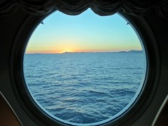 oblò (francescaturturo) Tags: oblò crociera sea mare funny holiday silence travel blue paololivornosfriends