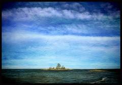 island in the sun... (iEagle2) Tags: iphone iphone6 lake vänern island winter