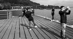 Tourist!  (Sept 2014) (staneastwood) Tags: staneastwood stanleyeastwood loch ness scotland luss village lake boats pier beach swan ducks
