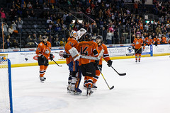 "Missouri Mavericks vs. Wichita Thunder, February 3, 2017, Silverstein Eye Centers Arena, Independence, Missouri.  Photo: John Howe / Howe Creative Photography • <a style=""font-size:0.8em;"" href=""http://www.flickr.com/photos/134016632@N02/32591261371/"" target=""_blank"">View on Flickr</a>"
