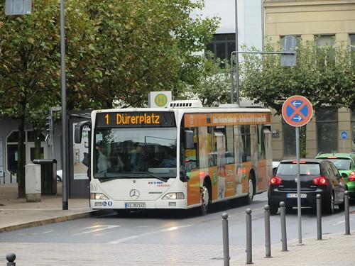 Linie 1 zum Dürerplatz