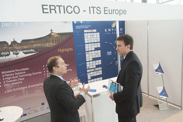 ERTICO - ITS Europe stand