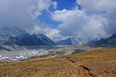 Khumbu glacier from Kala Pattar (Andrey Sulitskiy) Tags: nepal himalaya