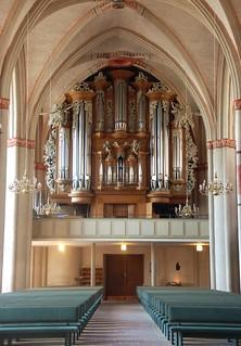 Orgel Marburg, St. Marien