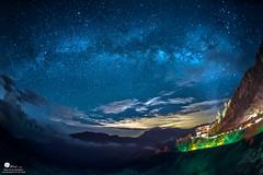 銀河 (Wi 視覺) Tags: sky 雲 夜景 天空 合歡山 星空 銀河