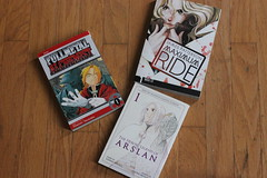 some mangas (kelrosee) Tags: reading book manga books graphicnovel bookphotography bookhaul