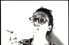(Max Miedinger) Tags: portrait blackandwhite bw lynch film blackwhite nikon kodak gates xx films milano 14 85mm f100 x double epson sw nikkor eastman six limited edition developed bianconero ai biancoenero sgf pellicola doublex v700 rullino d96