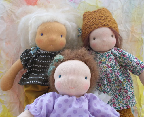 "the lil' ones, 8"" doll by kra"