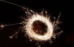 (Elizabeth Gray1) Tags: light abstract texture dark fire lights sparkle flame sparks spark darkbackground