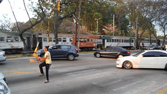 Street Juggler (zuerigay) Tags: street train san strasse zug juggler jos jongleur