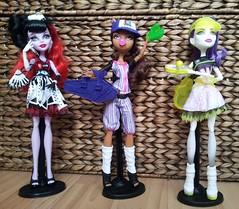 New Ghouls (Just a Nobody) Tags: monster toys high model doll boyz super simba girlz mga fashiondoll moxie mattel bratz teenz