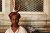Portrait (Mayank Austen Soofi) Tags: portrait delhi marigold eunuch hijra walla