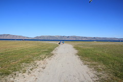 Everyone heading to Bear Lake 1 (Aggiewelshes) Tags: lake beach landscape scenery hiking july lisa tinkerbell vivian olsen cailin bearlake jovie 2015 jalila gardencitypark