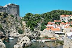 Hideaway (Luke Tomsett) Tags: city travel vacation travelling nikon harbour croatia ramparts walls dubrovnik adriatic lightroom vsco d7000