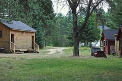 Behind our Log cabin (Sylvie Poitevin Photography) Tags: ontario logcabin madawaska