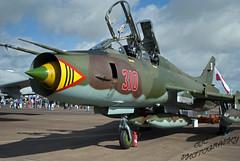 Polish SU-22 At RIAT 2015 (OCLARGO33) Tags: show tattoo plane flying force aircraft aviation air royal poland polish airshow international static airforce airfield fairford riat royalinternationalairtattoo su22 polishairforce