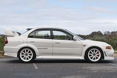 Mitsubishi Evolution IV (FotogenikFilm) Tags: white race work rally evolution perth mitsubishi evo mitsi xd9 evoiv evo6 workwheels fotogenik fotogenikproductions