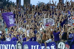 Austria Salzburg - the club that survived its own death (nemico publico) Tags: salzburg st austria football sterreich fussball soccer union fans stadion viola bundesliga ultras tifo fanatics awayday plten skn as