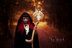 The Witch (.MrTimmy.) Tags: red rouge skull head witch cranes animaux sorcire
