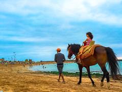 Temara Beach (akram elhadi) Tags: sunset beach de casino morocco maroc plage rabat temara harhoura iphone6