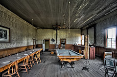 Bodie's Wheaton and Hollis Hotel Interior (Dave Toussaint (www.photographersnature.com)) Tags: california ca travel usa building abandoned nature june canon landscape photo interestingness google interesting photographer antique interior picture historic explore adobe getty norcal poolhall adjust easternsierra bodieghosttown 2015 denoise topazlabs photographersnaturecom davetoussaint wheatonandhollishotelandbodiestore 5dmarkiii bodiefoundation photoshopcc nprtherncalifornia