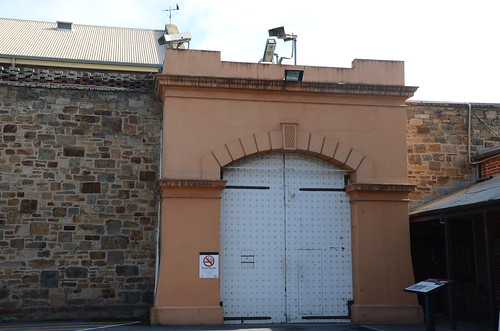 DSC_3097  entrance to 'new' wing, Adelaide Gaol