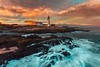 One year ago today (Merry Christmas to all my friends) (kaising_fung) Tags: seashore lighthouse rocky seascape sky clouds maine