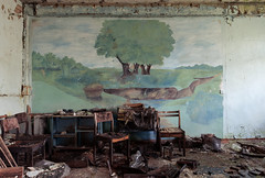 Landscape (I g o r ь) Tags: abandoned decay decayed rust urban forgotten lostplaces urbanexploration ussr cccp sovietunion murals
