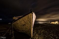 Otros tiempos (Dancodan) Tags: nikon d7100 elrompido huelva andalucía españa barco antiguo playa noche nocturna cielo mar largaexposición nikkor1024mmf3545gdxswmedifasphericalafs fb